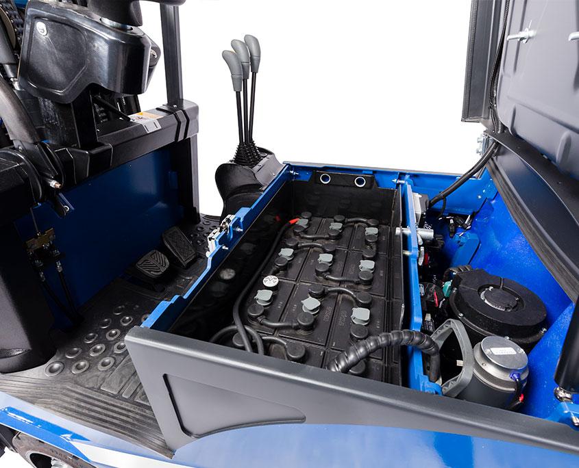førerkabine til gaffeltruck
