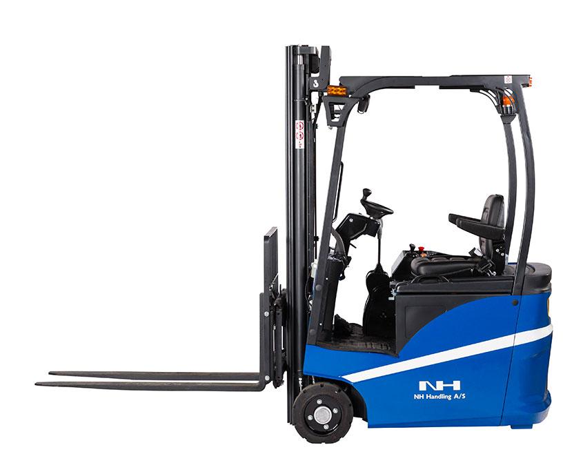 Kompakt og effektiv truck