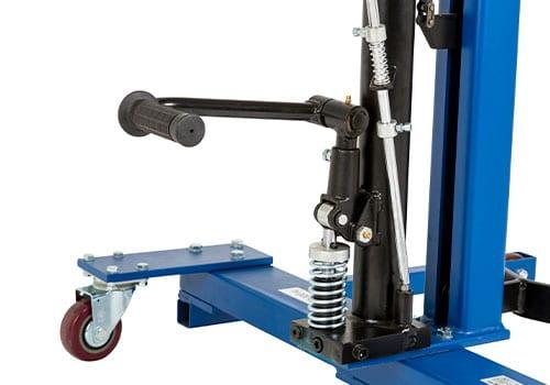 fodpedal til ergonomisk løfteudstyr til tønder