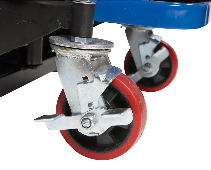 hjul til el-hydraulisk halvpalle stabler