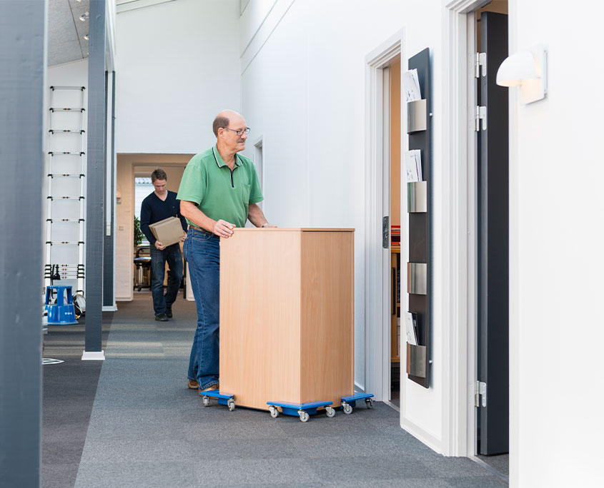 transporthjørner til flytning af møbler eller maskiner