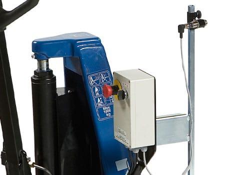 fotocelle højderegulering til el-hydraulisk højtløftende palleløfter