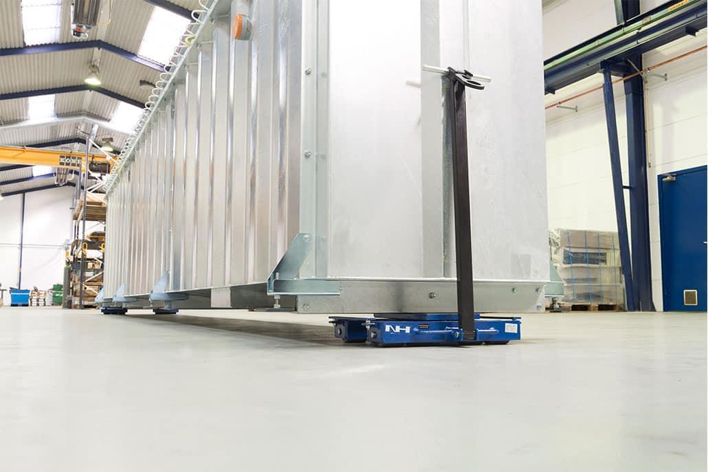 styrbare maskinskøjter til tunge transportopgaver