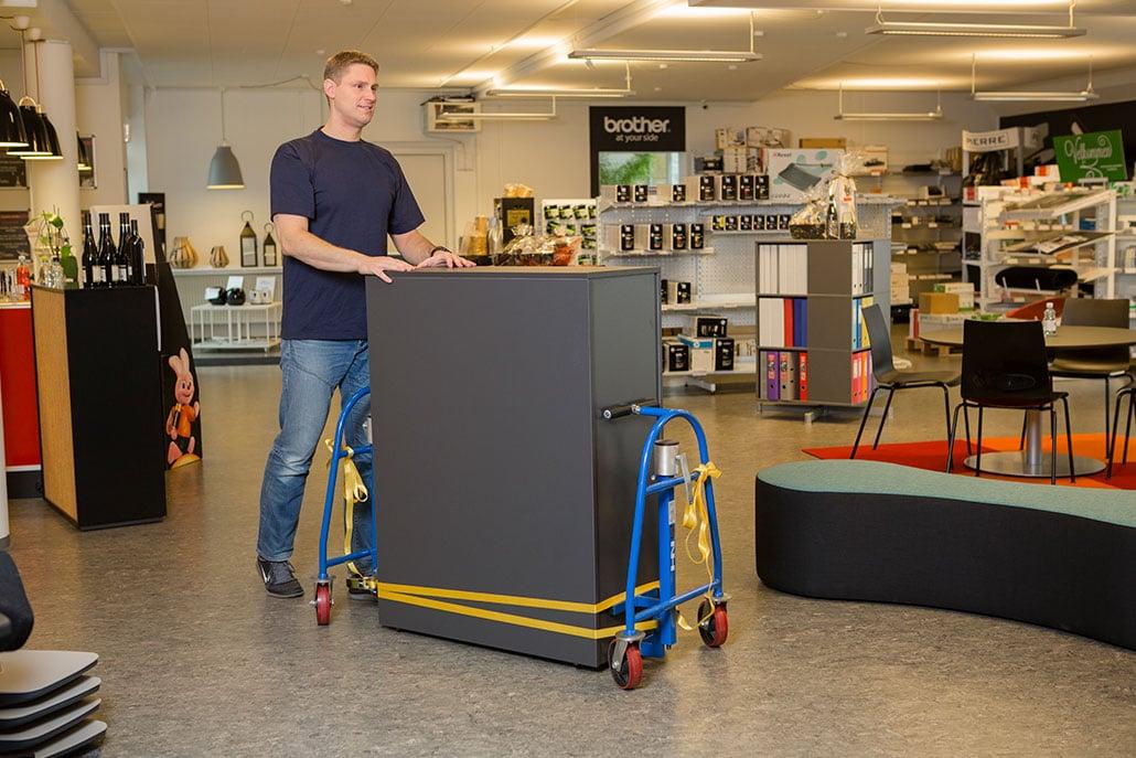 manuel møbeltransporter fra NH Handling