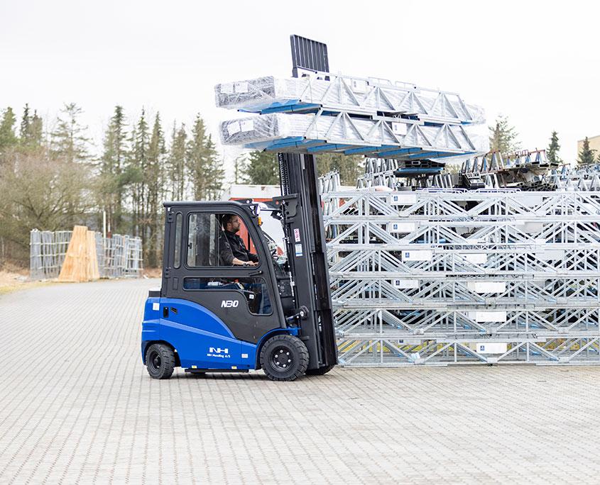 driftsikker truck fra NH Handling