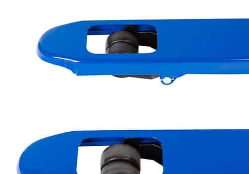 gummi hjul på støjsvag palleløfter