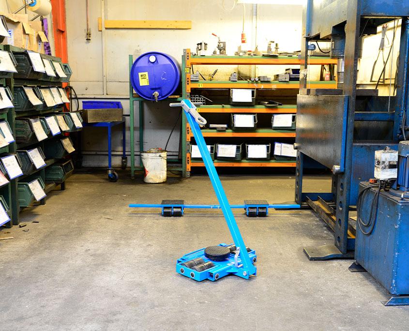 maskinskøjter til transport af tunge materialer