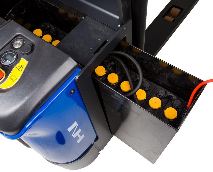 batteri til elektrisk stabler med friløft