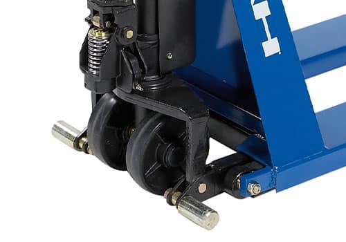 stabilisatorer på højtløftende pallevogn