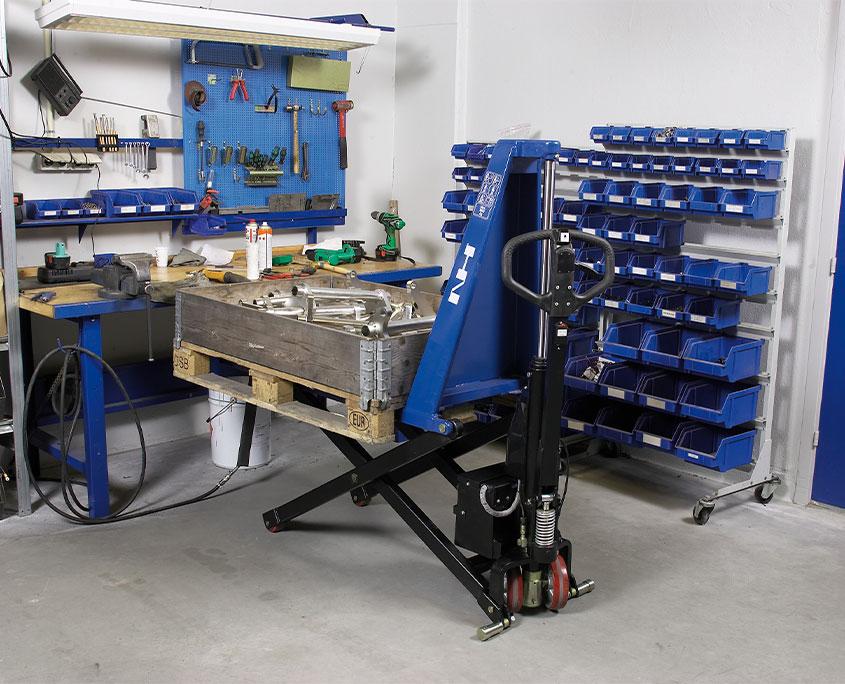 el-hydraulisk højtløftende palleløfter