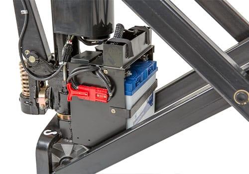 indbygget lader til el-hydraulisk højtløftende palleløfter