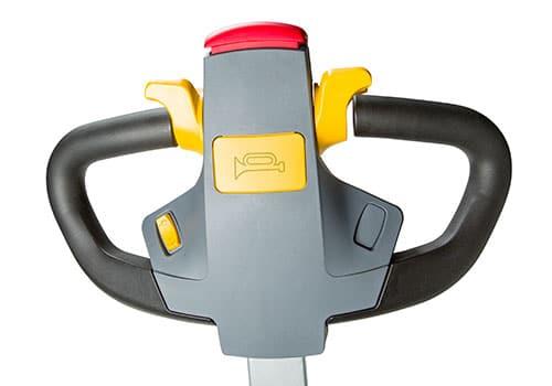 styrehåndtag til elektrisk trækvogn