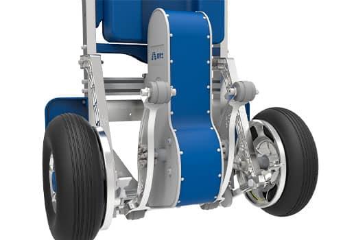 elektrisk trappesækkevogn med bremse
