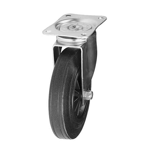 drejeligt hjul til vogne