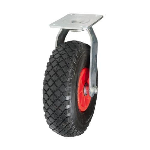 drejeligt luftgummi hjul til vogne