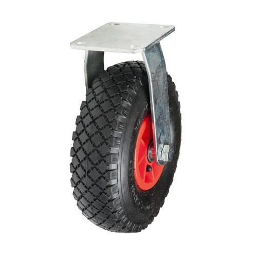 fast luftgummi hjul til vogne